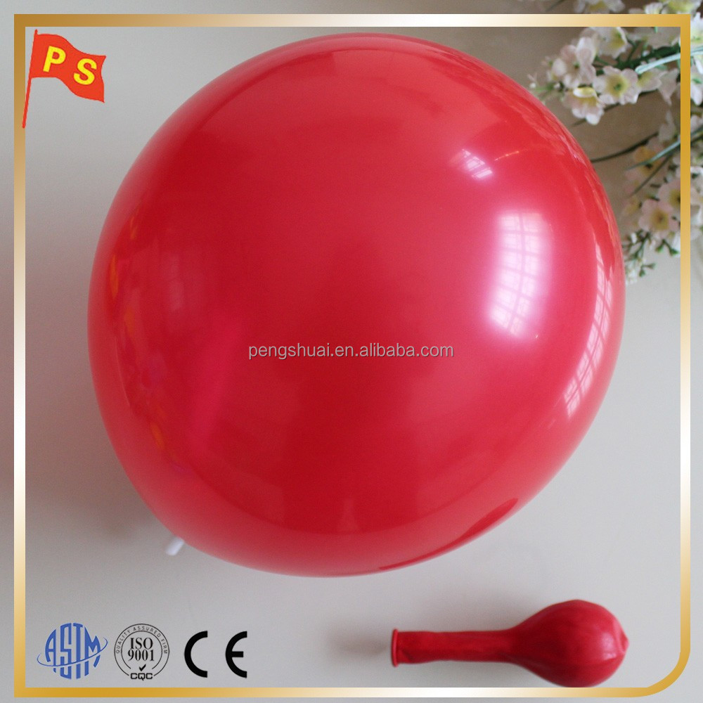 Event&party supplies100% natural latex standard round balloons