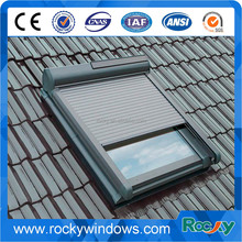 Aluminum Awning Window with Roller Shutter