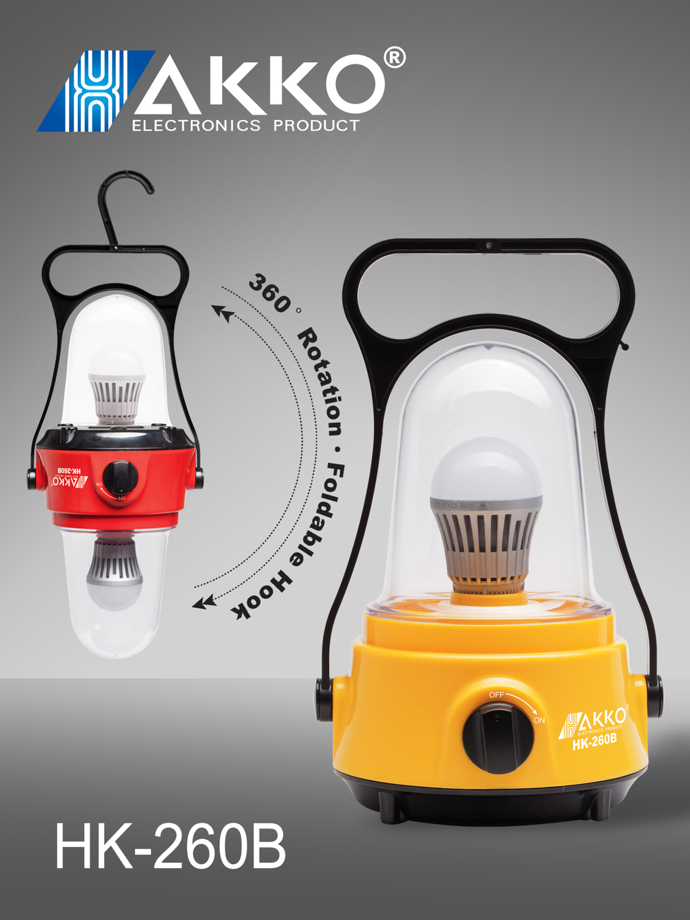 LED Rechargeable Emergency Camping Light