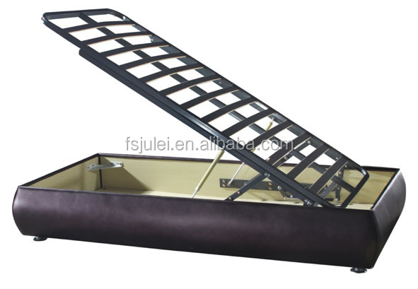 new style for easy cleaning horizontal gas lift up stronge metal bed frame mechanism DJ-QD01