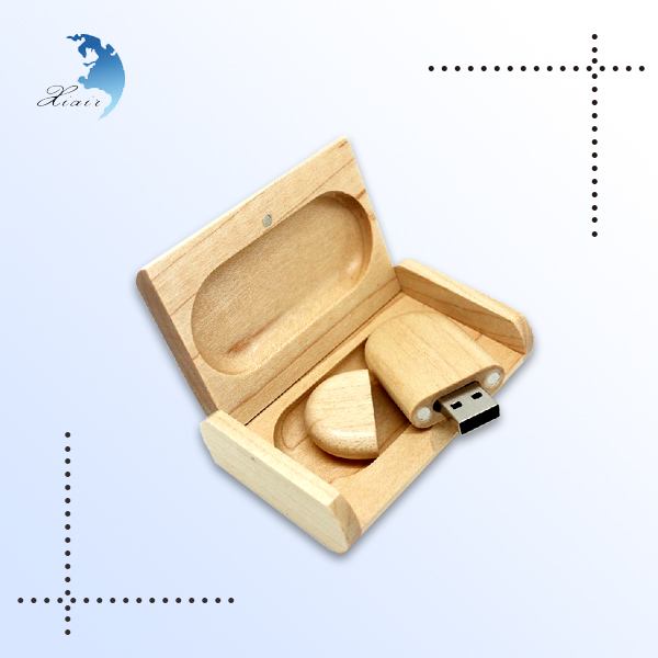 promotional creative shape 4gb flash drive custom wood usb