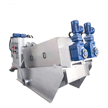 Automatic filter dewatering machine screw press complete industrial water purification systems