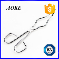 Stainless Steel Crucible Tongs for Lab Use