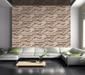 Fashionable popular 3d brick wallpaper brick design wallpaper roll size 0.53*10