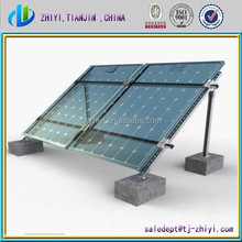 tin roof pv mounting system grounded mounted solar energy system solar panel frames