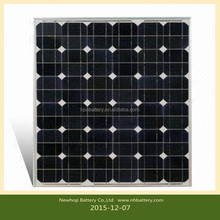 Supply Bluesun brand cheap price mono 100w solar battery charger 12v