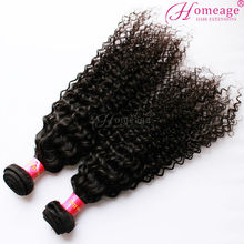 homeage alibaba china 2014 new product virgin mongolian kinky curly hair
