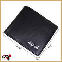 Brand long men trifold wallet birthday gifts for men