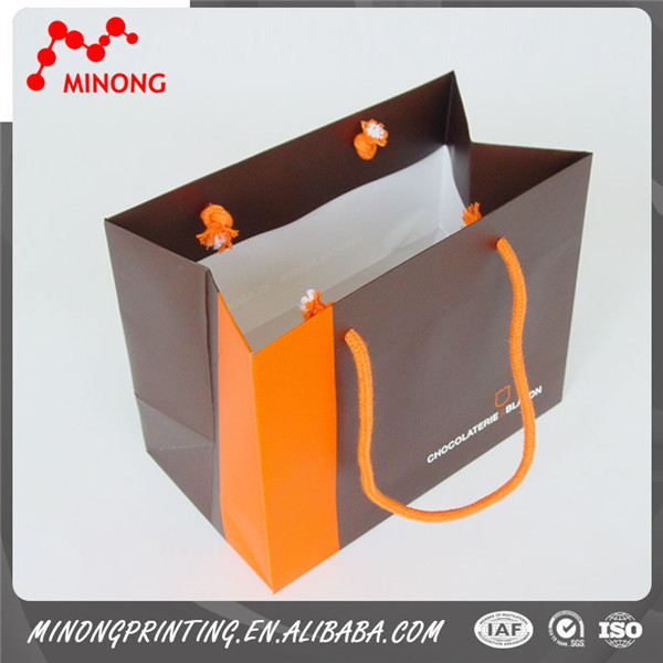 Promotional Top Quality large brown paper bags