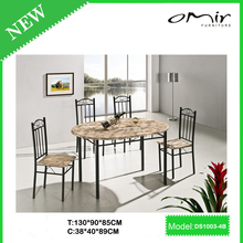 China rubberwood dining table