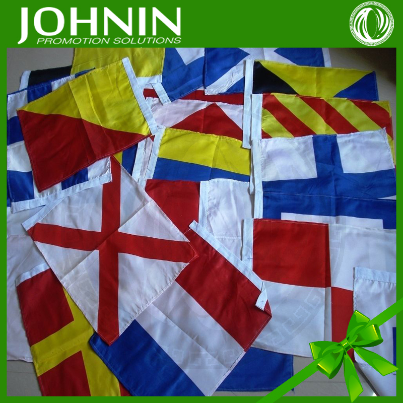 JOHNIN flag supply various kinds of customized new design decorative polyester fabric nautical flags