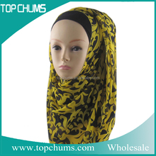 wholesale china yiwu market latest designs muslim islamic scarf ,fashion hijab 2016