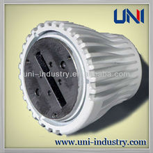 UNI40006 China wholesale customized aluminum die casting led radiator aluminium led lamp shade