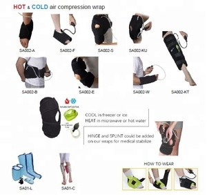 Hot Cold Therapy Gel Pack Air Bag Compression Massager