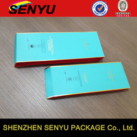 belly band paper packaging with gold stamping