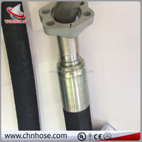 2014 China Oil resistant synthetic rubber black used car and truck accessory hydraulic rubber hose
