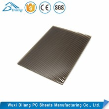 plastic roof plates Lexan polycarbonate triple wall sheet x structure