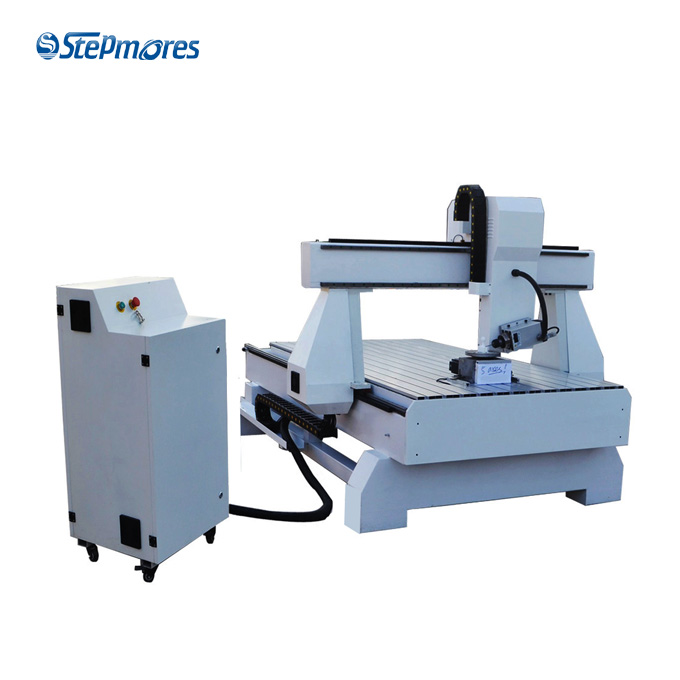 Automatic 5 axis cnc machines, atc cnc router 5 axis 1300x2500x500mm