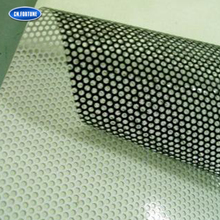Advertising Self Adhesive Perforated Window Film One Way Vision Vinyl Car Sticker