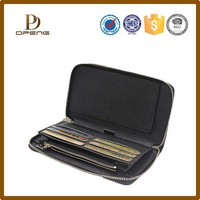 2015 New Arrival Flip Business Custom Leather Wallet, Genuine Leather Men's wallet, PU Leather Men Wallet