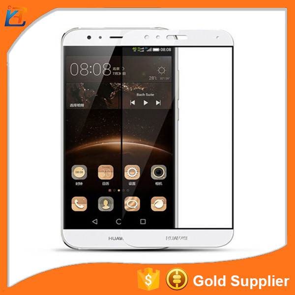 Top sell anti-shock anti glare tempered glass screen protector for huawei ascend p1/ascend p2/ascend p6