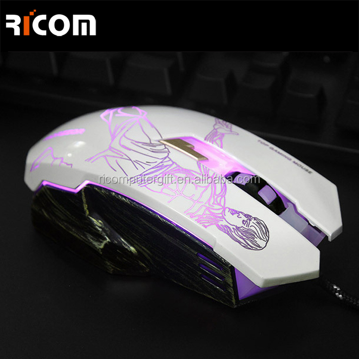Ricom Brand mouse computer with the function of gaming mouse and optical mouse--GM06--Shenzhen Ricom