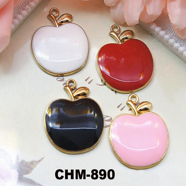 New Product 2016 Fashion DIY Cheap Bulk Metal Charms For Bracelet Making Apple Shaped Charm Pendant