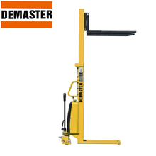 1500kg semi electric operated pallet forklift jack stacker