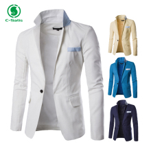 Latest Fashion Multi Color Signle Button Design Slim Fit Mens Casual Blazer for Sale