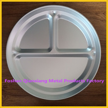 3 parts aluminum round plate for sale