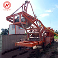 ISO CE certified mobile harga concrete batching mixer plants