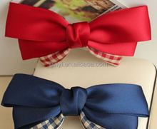 Boutique Grosgrain Hair Bows Clip For Baby