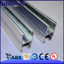 HDmann Good Quality Hot Dipped Galvanized Unistrut Box Channel Steel