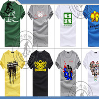 printed t shirt with OEM designs