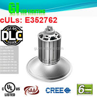 Top quality UL cUL DLC 200 watt led highbay lights (E352762)