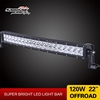 Sanmak quality guaranteed 120w light bar CE RoHS IP67 SGS TUV 24 volt truck lights auto accessories 22inch led offroad light bar