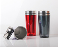Wholesale double wall coffee cup for travel, stainless steel water cup, free shaker cup sale