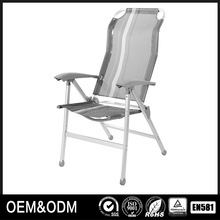 outdoor metal folding standard beach chairs for air travel
