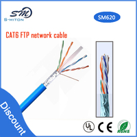 High quality CAT6 UTP 24awg wire and cable network cable