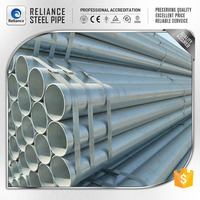 ASTM A106 GR B GALVANIZED STEEL WELDED PIPE FOR BARRIERS AROUND PARKING AREAS