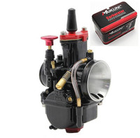 dark black PWK 28mm carburetor 30mm 32mm 34mm carb for motorcycle ATV Dirt Pit Bike