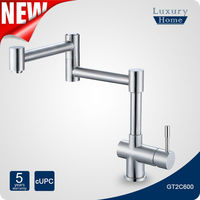 Best Selling Brushed Nickel cUPC Pot Filler Kitchen Faucets