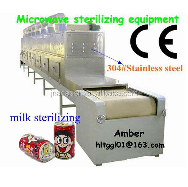 2015 new Bottled Fresh Milk Microwave Sterilizer Machine