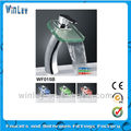 2012 High grade color changed water power LED faucet light without battery