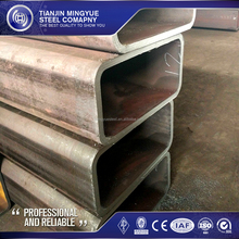 unit weight of circular Hollow section black square steel pipe/tube