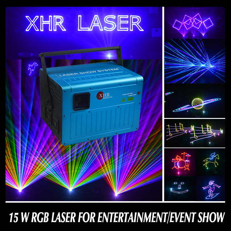 15w Beautiful stage Effect Animation disco laser light