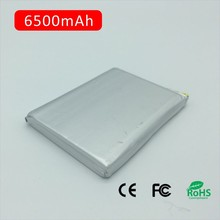 Premium rechargeable Lithium polymer batteries 6500mAh