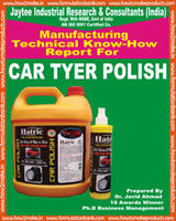 TECHNOLOGY FOR CAR TYRE POLISH