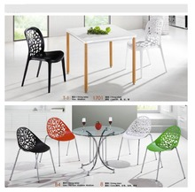 hot sell round oval glass dining table factory sell directly YY22