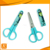 "5"" FDA small craft best with plastic cap safety kids scissors"